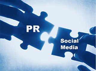 PR and Social Media graphic