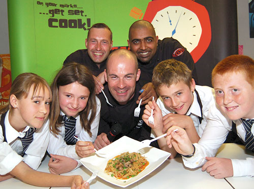On Your Marks … Get Set, Cook! Schools Campaign