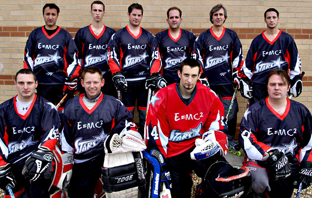 PR agency E=MC² Public Relations has teamed up with the Stars, a Salisbury-based hockey team, to sponsor its strip for the 2009/2010 season.