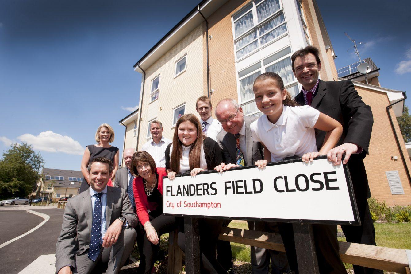 Flanders Field naming winners