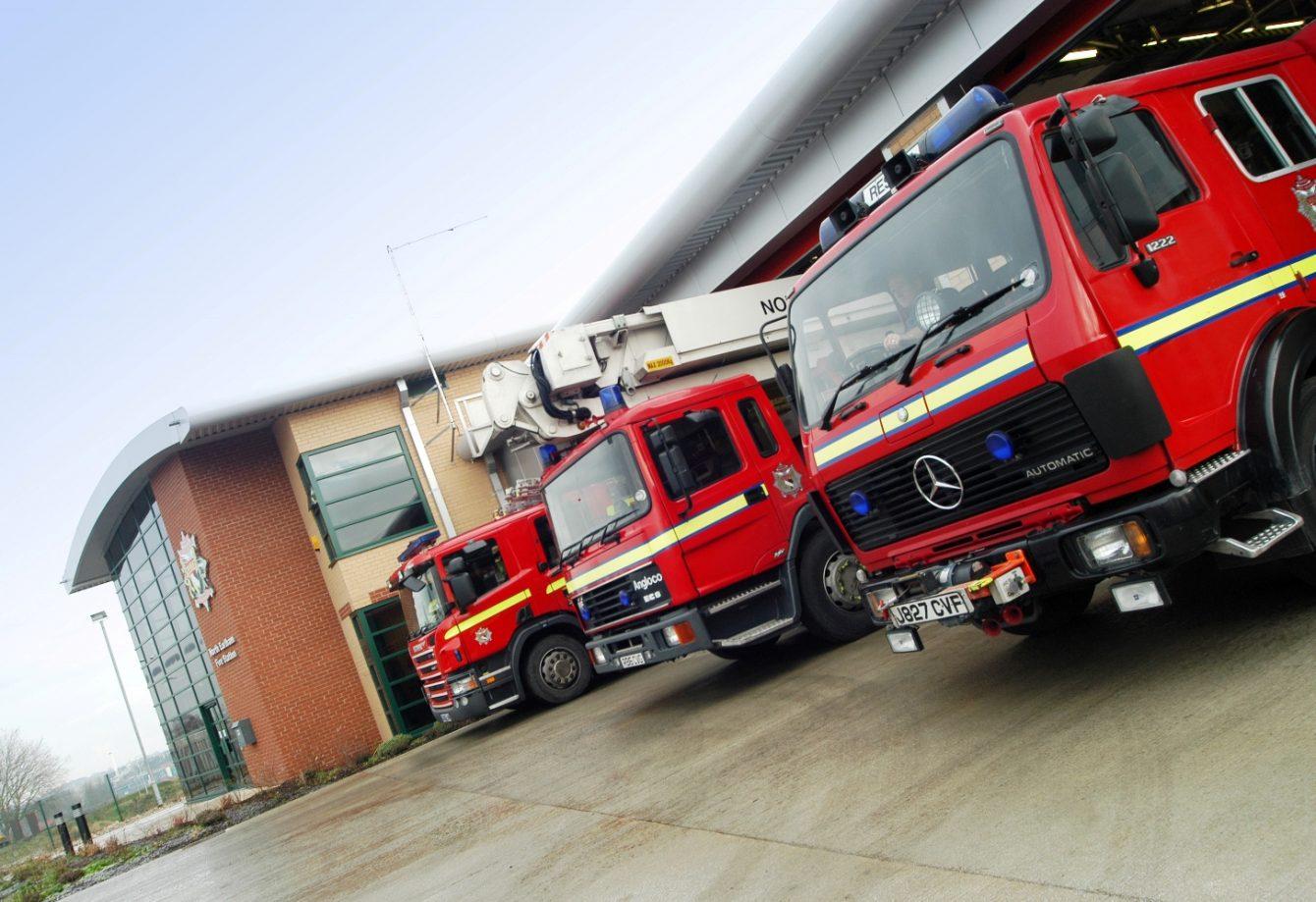 N Earlham Fire Stn