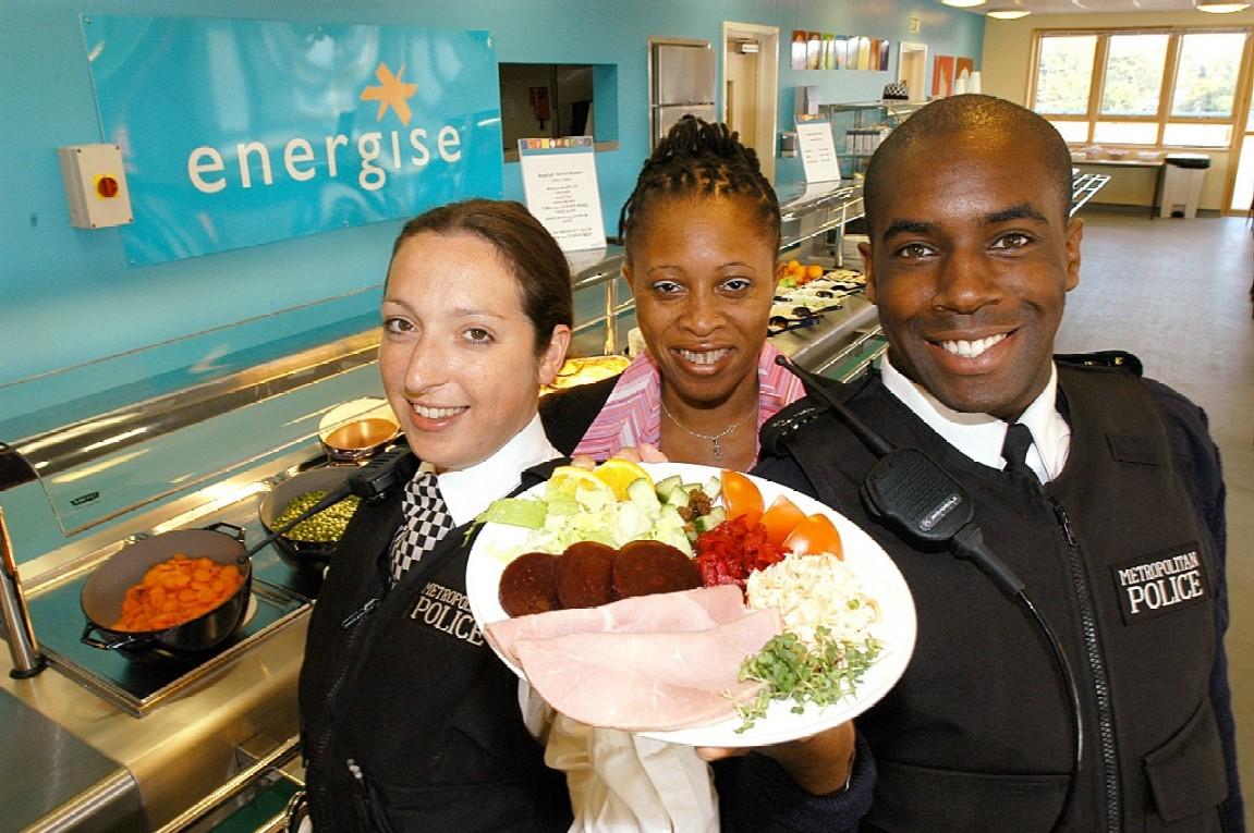 Police & food