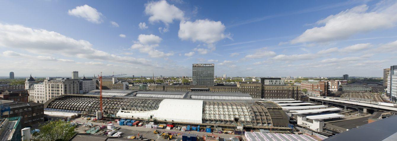 Progress of Paddington Station Span 4 project